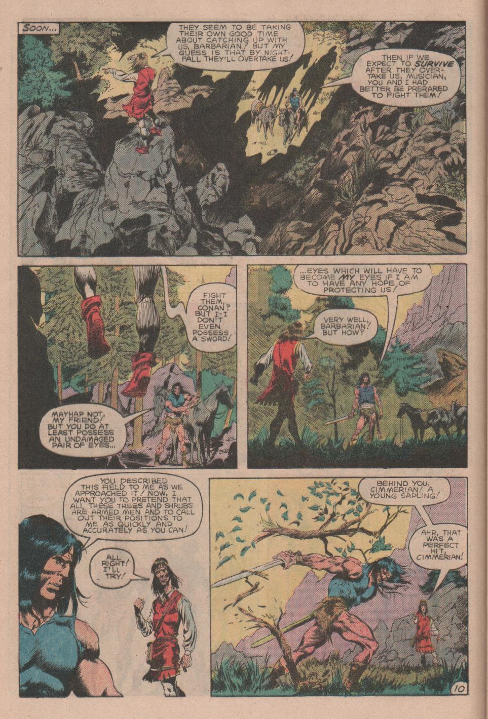 Conan the Barbarian (1970) Issue #160 #172 - English 11