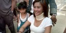 Sakit, Agnes Monica Sadar Bukan Jackie Chan