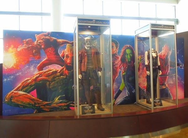 Original Guardians of the Galaxy movie costumes