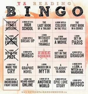 RETO: Reading bingo challenge