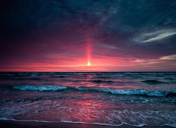 9. Pink Sunset