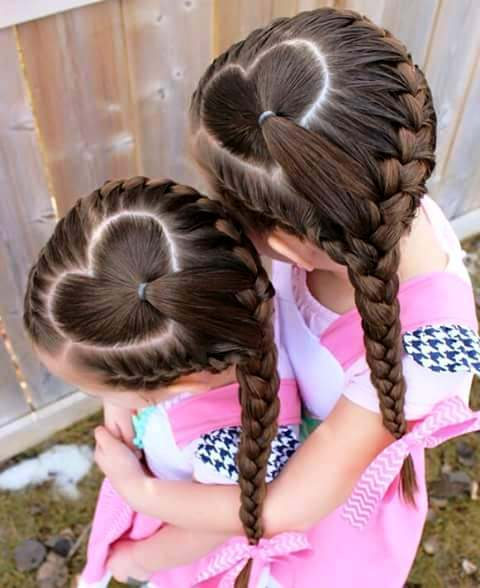 Model Rambut Kepang Cantik Dan Unik Untuk Anak Perempuan Si - Gaya rambut anak perempuan ke sekolah