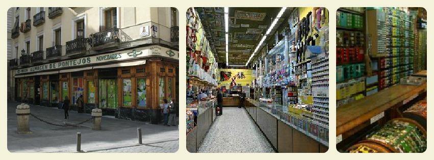 el taller de anitadinamita algunas tiendas en madrid