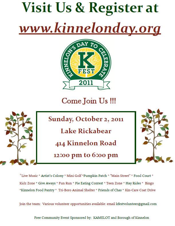 The Smoke Rise and Kinnelon Blog: September 2011
