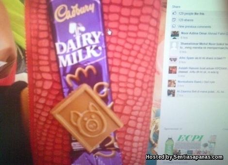 Cadbury-gambar-babi