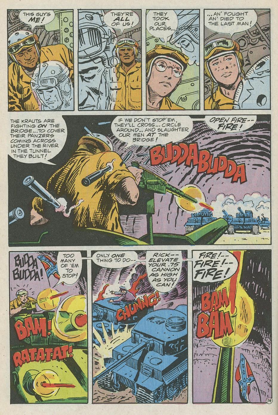 G.I. Combat (1952) Issue #288 #288 - English 19