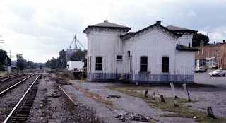 Rural Retreat's railroad station