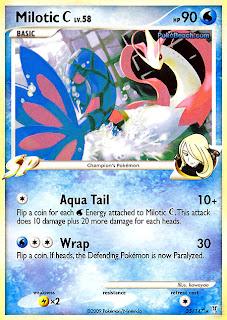 Milotic C Pokemon Card Supreme Victors set