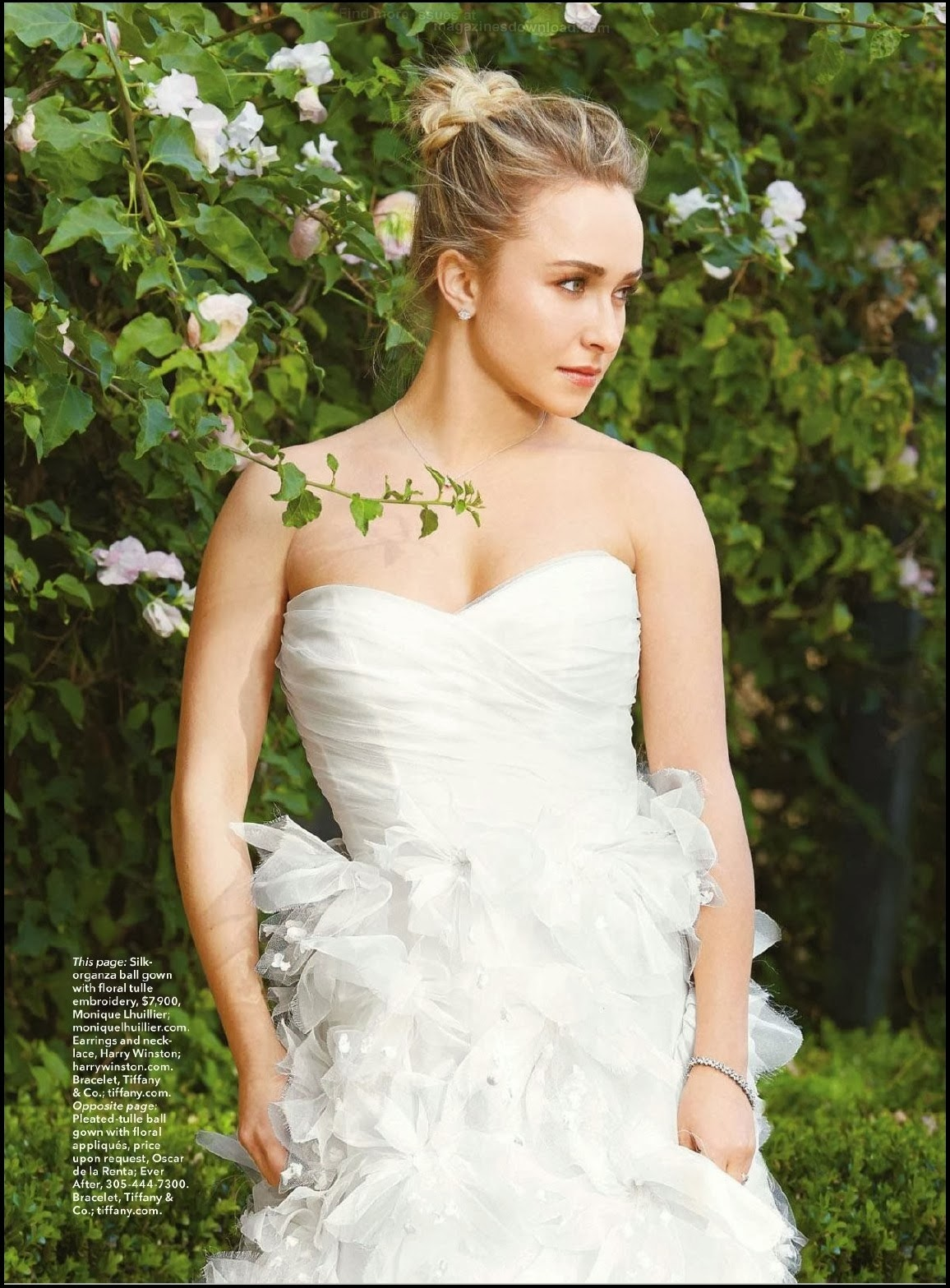 Hayden Panettiere HQ Pictures Brides Germany Magazine Photoshoot April/May 2014