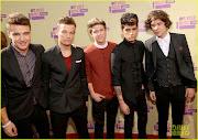 Fotos de One Direction en los MTV VMA's 2012.One Direction Pics from the .