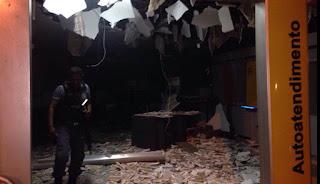 Mais dois bancos são atacados por assaltantes no MA