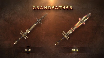 Grand Father Blade Diablo Legendary Unique 1.04