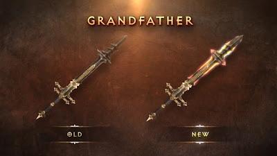 Grand Father Blade Diablo Legendary Unique 1.04