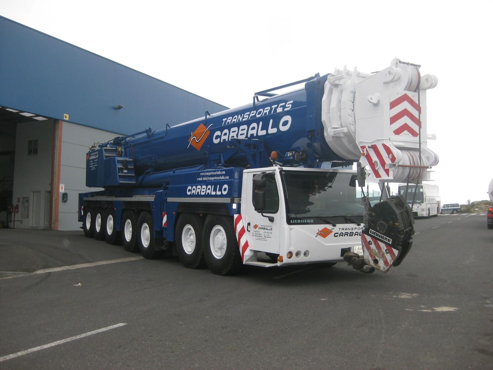 Camiones de canarias transportes carballo se desplaza a la isla de el hierro - Transporte entre islas canarias ...