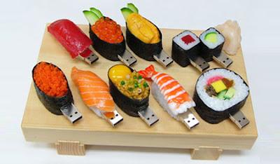 pen drive sushi