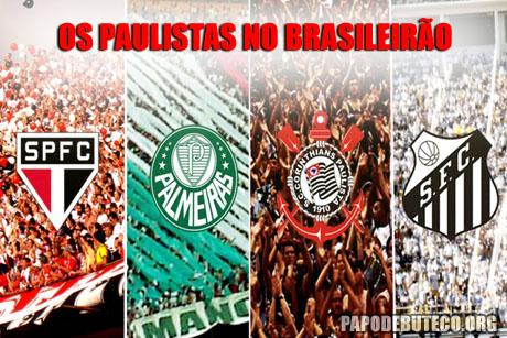 Os grandes paulistas no Brasileirão 2011