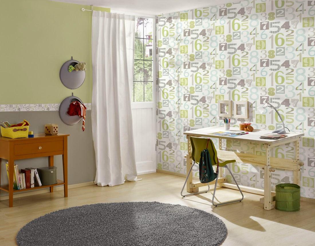 Decorar habitaciones infantiles me gusta el papel pintado - Disbar papeles pintados ...