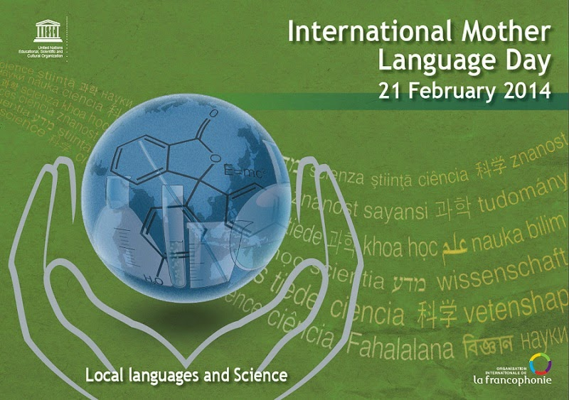 Afiche Día Internacional de la Lengua Materna 2014 - UNESCO