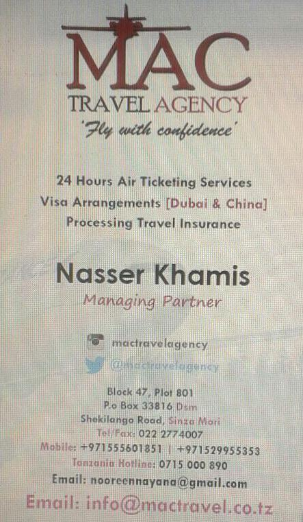MAC Travel Agency