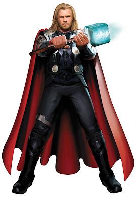 Imagen del superhéroe Thor