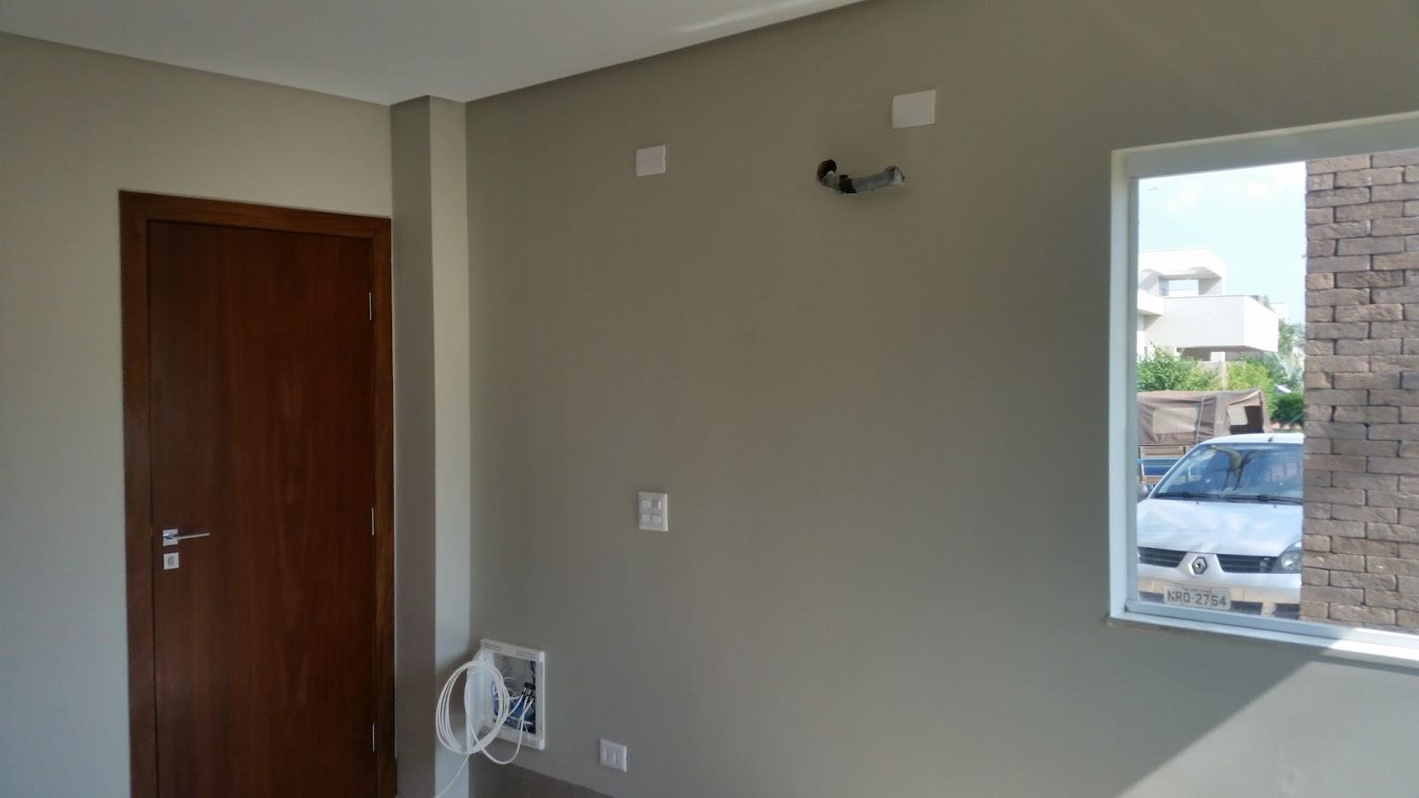Pinturas Campo Grande MS Casa no Residencial Damha ii ~ Quarto Pintado Branco Gelo