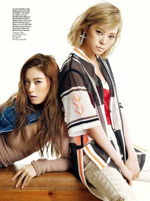 Orange Caramel - Ceci Magazine April Issue 2014
