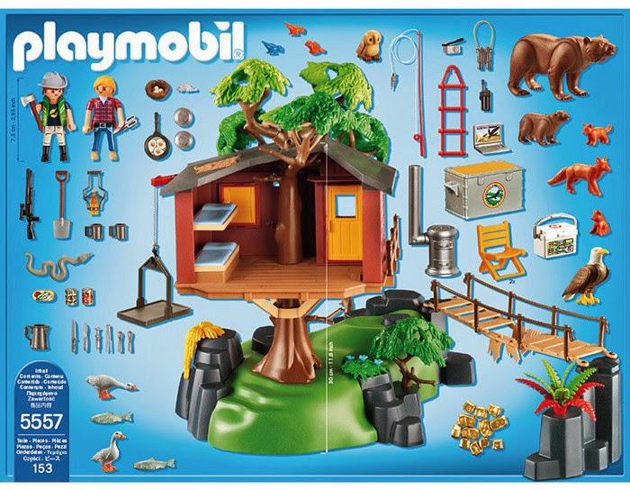 Libros y juguetes 1demagiaxfa juguetes playmobil wild life 5557 aventura casa del rbol - Casa del arbol de aventuras playmobil ...