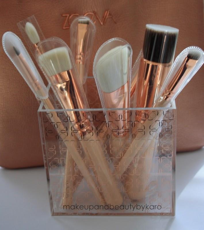 makeup beauty by karo zoeva rose golden luxury set vol 2. Black Bedroom Furniture Sets. Home Design Ideas