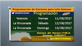 PROGRAMACIÓN DE CARRERAS