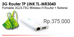 TL-MR3040 Modem 3G/3.75G Portabel Wireless N Router dengan Tenaga Baterai