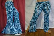 Pantalones para danza árabe y tribal