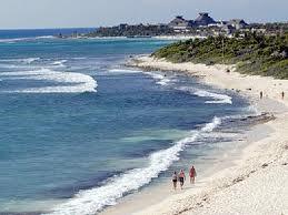 Playa Akumal en la Riviera Maya