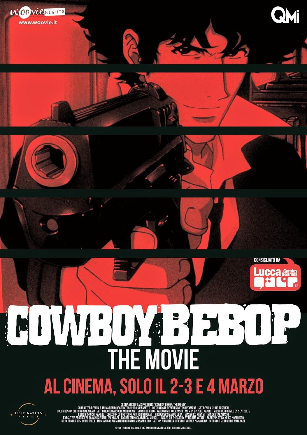 Cowboy Bebop il film poster recensione