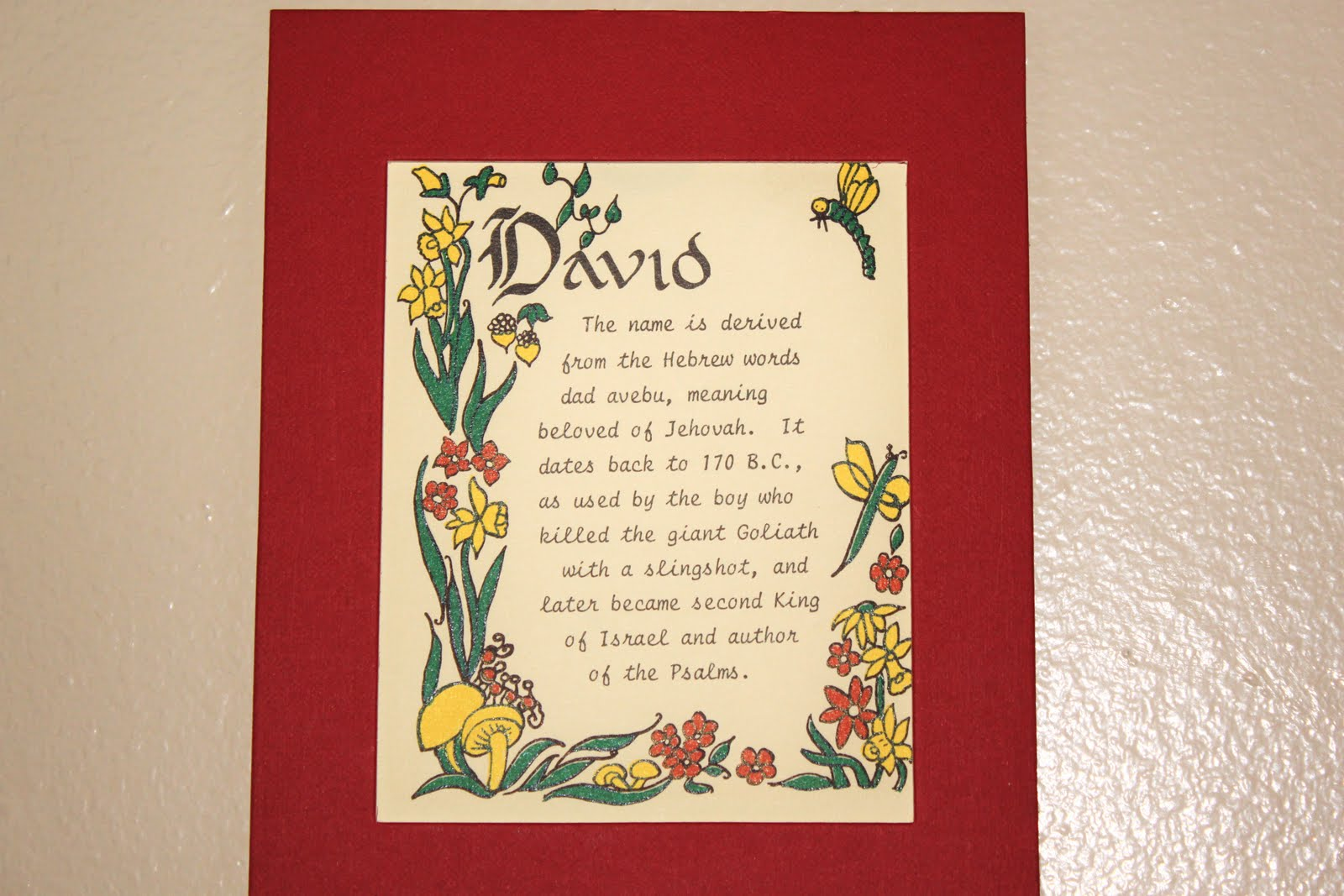 The meaning of the name David is for a boy. Name David: Meaning, Origin and Mystery 62