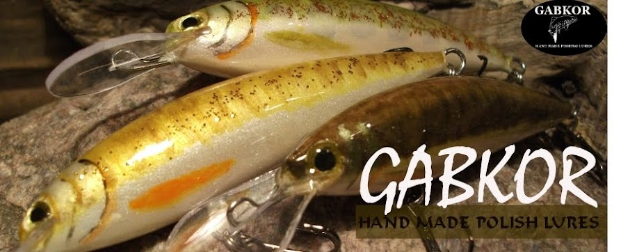 GABKOR HAND MADE LURES FROM POLAND