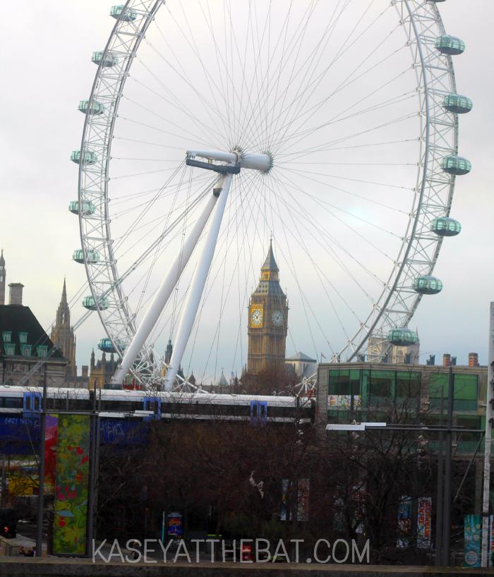 london eye + big ben