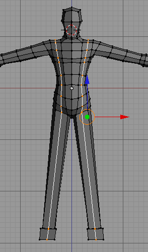 tutorial modeling karakter manusia simpel 10