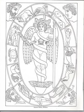 Antinous The Gay God The Antinous Coloring Book Yes There