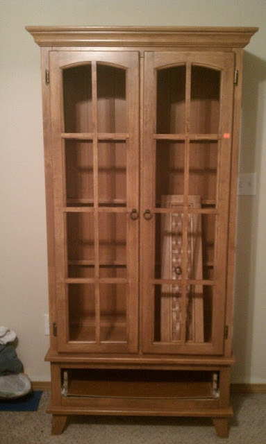 furniture flippin a new look for an old armoire