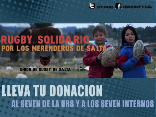 Rugby Solidario: Por los merenderos de Salta