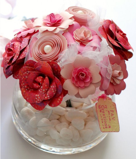 http://www.favcreations.com/product/handmade-paper-flowers-in-vase-pink/