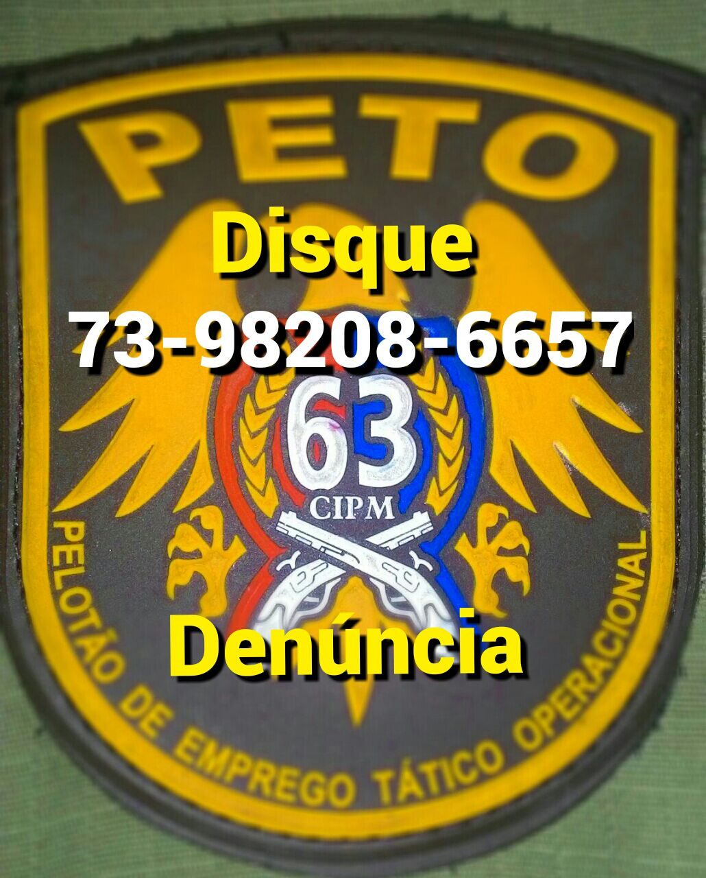 AJUDE A NOSSA POLICIA