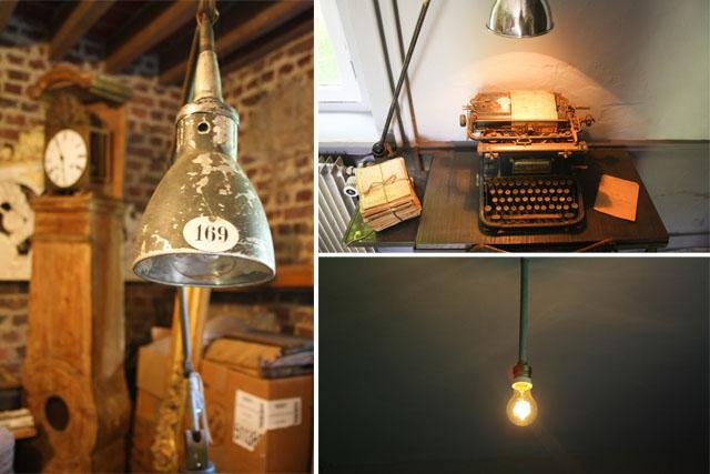 Lampe gras vintage / lovmint