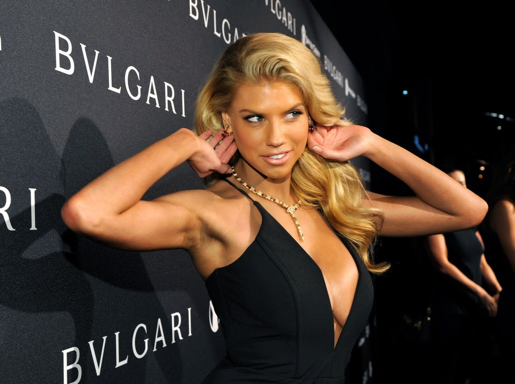 Fashion Model, Charlotte McKinney , BVLGARI ,Beverly Hills
