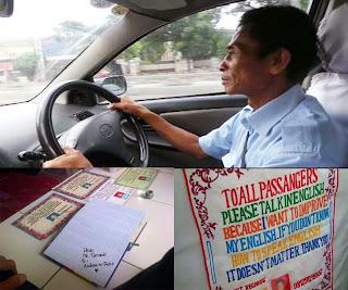Inspiratif: Tarnedi, Sopir Taksi Berbahasa Inggris