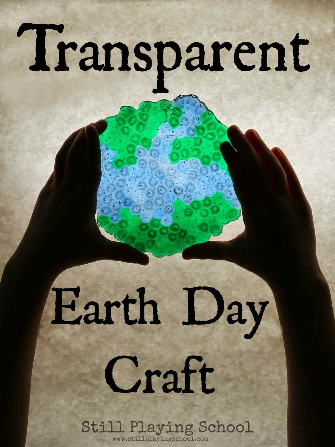 Our Melted Bead Earth Day Craft Makes A Lovely Sun Catcher Too