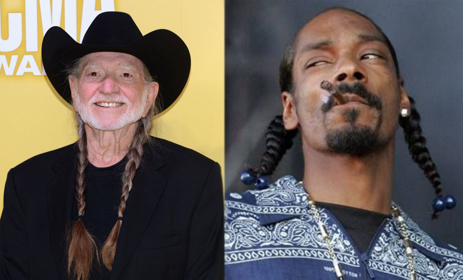 Willie Nelson and Snoop Dogg share hair styling tips