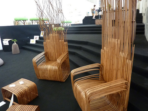 bamboo chair table art furnitures