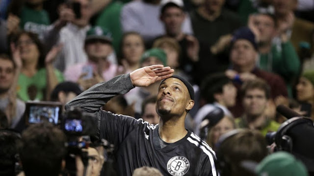 Paul Pierce is taking his talents to the nations capital