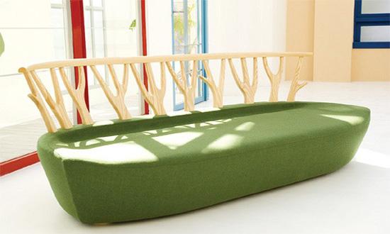 Tree model sofa
